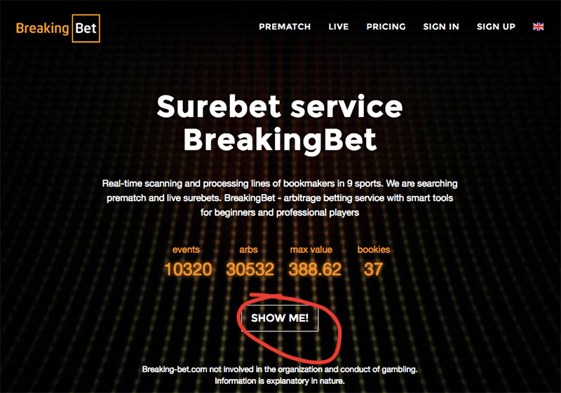 Обзор Breaking-bet